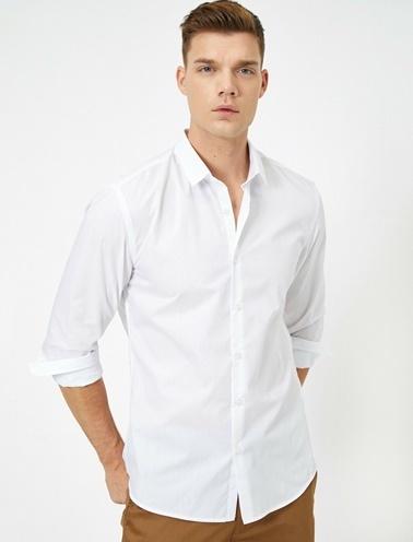 Koton %60 Polyester, %40 Pamuk Beyaz
